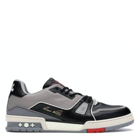Louis Vuitton LV Trainer Low 'Black Grey' (1A54H5)