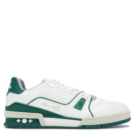 Louis Vuitton LV Trainer Low 'White Green' (1A54HS)