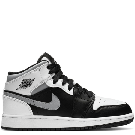 Air Jordan 1 Mid GS 'White Shadow' (554725 073)
