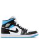 Air Jordan 1 Mid 'University Blue' (W) (BQ6472 102)