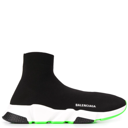 Balenciaga Speed Trainer 'Black Green' (587286W1704)