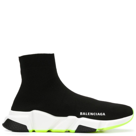 Balenciaga Speed Trainer 'Black Yellow' (W) (551185W05G0)