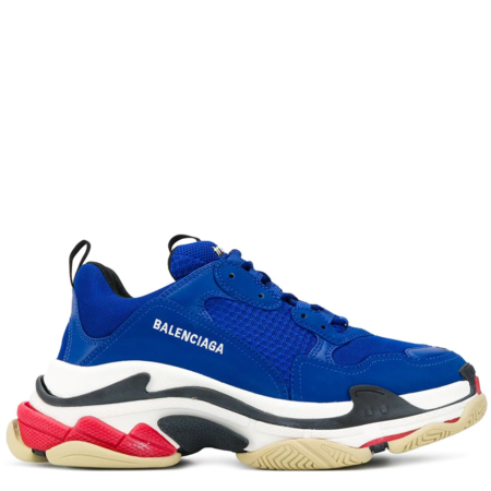 Balenciaga Triple S Trainer 'Blue Red' (536737W09OM)