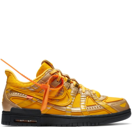 Nike Air Rubber Dunk Off-White 'University Gold' (CU6015 700)