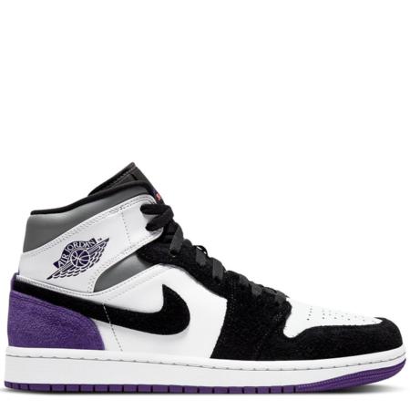 Air Jordan 1 Mid SE 'Varsity Purple' (852542 105)