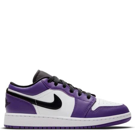 Air Jordan 1 Low GS 'Court Purple 2.0' (553560 500)