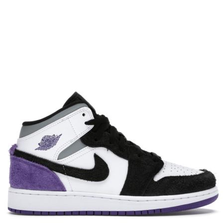Jordan 1 Mid SE Purple (GS) (BQ6931 105)