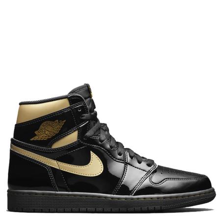 Air Jordan 1 Retro High OG 'Black Metallic Gold' (555088 032)