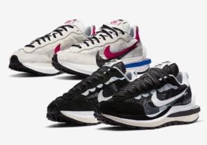 Nike VaporWaffle Sacai 'Black White' (CV1363 001)