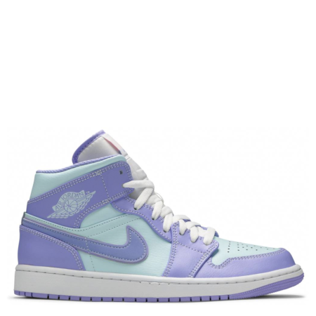 Air Jordan 1 Mid 'Purple Aqua' (554724 500)