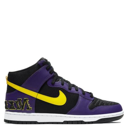 Nike Dunk High Premium EMB 'Lakers' (DH0642 001)