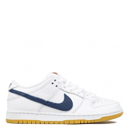 Nike SB Dunk Low Orange Label 'White Navy' (CZ2249 100)