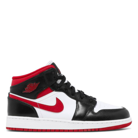Air Jordan 1 Mid GS 'Black Gym Red' (DJ4695 122)