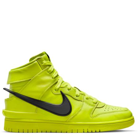 Nike Dunk High AMBUSH 'Flash Lime' (CU7544 300)
