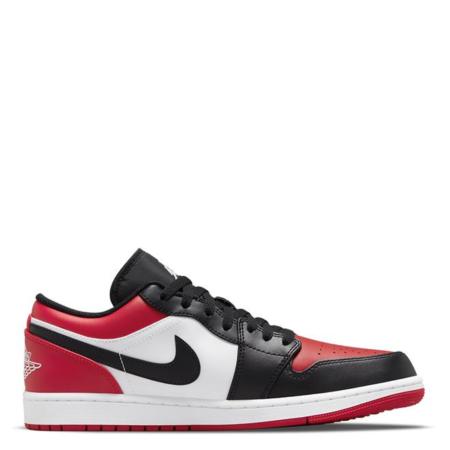Nike Air Jordan 1 Low GS 'Bred Toe'