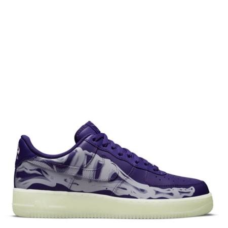 Nike Air Force 1 Low 'Purple Skeleton' (CU8067 500)